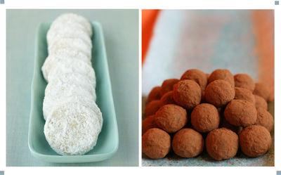 Powdered sweet treats